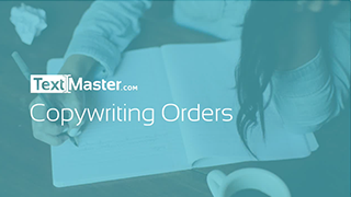 Ordering copywriting